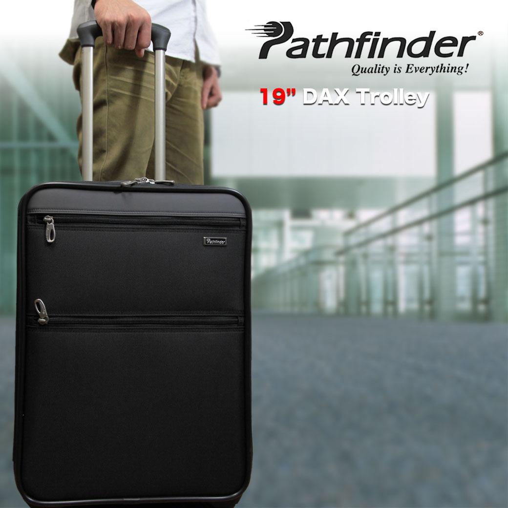 【全商品クーポン配布中】 スーツケース メンズ キャリーケース Pathfinder パスファインダー Revolution XT レボリューションXT キャリーバッグ 旅行 出張 ナイロン TSAロック 2輪 機内持ち込み メンズバッグ