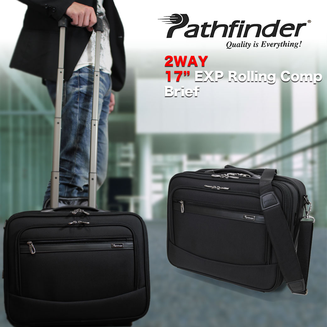 【全商品クーポン配布中】 スーツケース メンズ キャリーケース Pathfinder パスファインダー レボリューションXT キャリーバッグ 旅行 ナイロン 2WAY ショルダーバッグ ショルダー付 TSAロック 2輪 機内持ち込み メンズバッグ