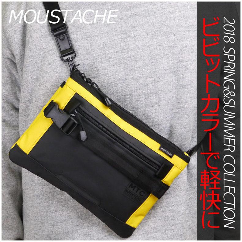 【ショルダーバッグ メンズ】MOUSTACHE(ムスタッシュ) ターポリン(撥水加工生地) サコッシュ VRR-4512 サコッシュ メンズ サコッシュ 人気 斜めかけバック メンズ 斜めがけバッグ