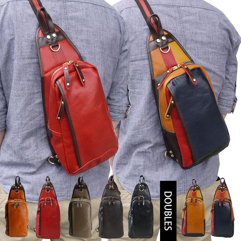 ボディバッグ メンズ 本革 レザー レディース ブランド ミニボディバッグ かばん 鞄 レザーバッグ ショルダーバッグ ボディーバッグ YIX-1401 ボディバッグ メンズ 40代 ワンショルダーバッグ【かばん創庫】【】【あす楽対応】