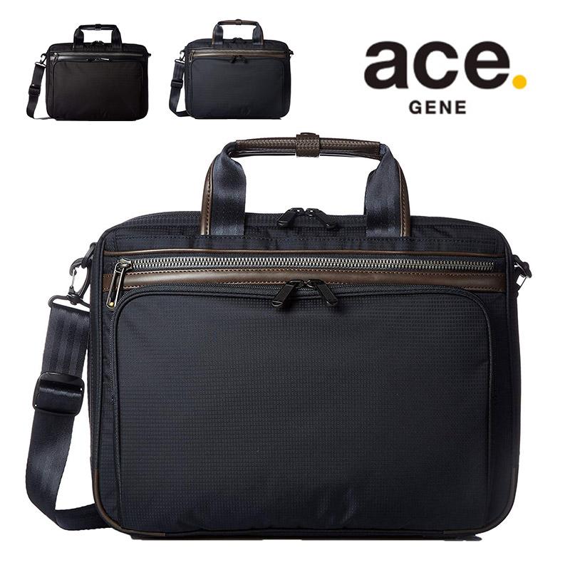 エースジーン ビジネスバッグ ace.GENE フレックスライトフィット フレックスライト FLEX LITE Fit 2WAY ブリーフケース A4 通勤 通勤バッグ メンズ 軽量 ブランド ACEGENE 54557 01-54557