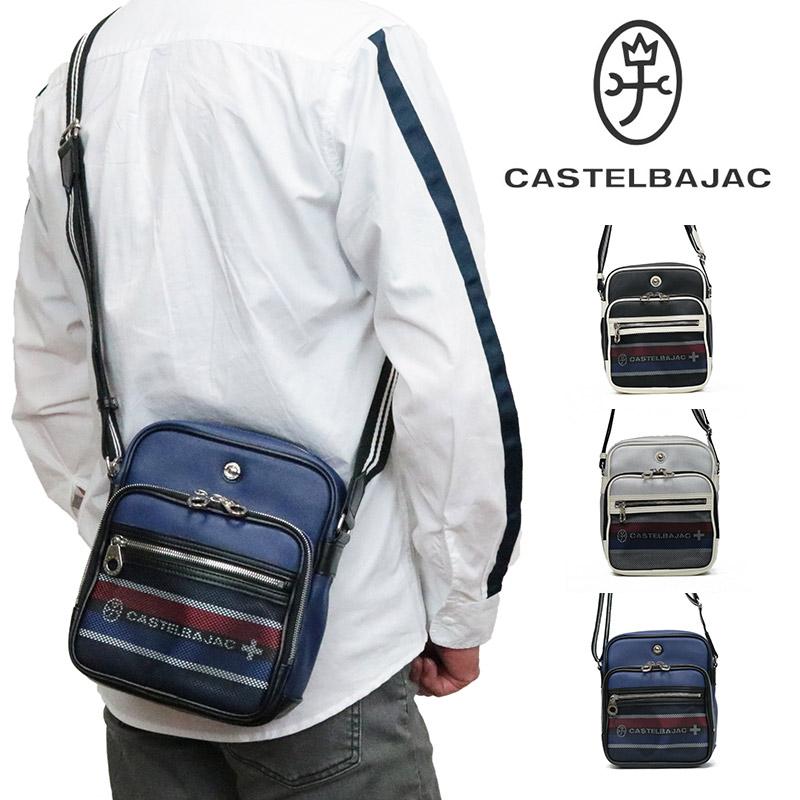 カステルバジャック ショルダーバッグ バッグ CASTELBAJAC NET ネット メンズ レディース ミニショルダー ショルダーバック ショルダー 合皮 斜めがけバック ボディバッグ ブランド 軽量 038102 23-038102