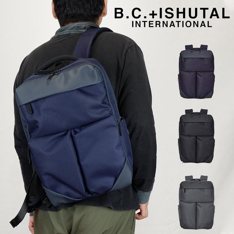 B.C.+ISHUTAL ビーシーイシュタル ロジック ビジネスリュック カジュアルリュック リュックサック メンズ レディース B4 A4 通勤 通学 ブランド PC収納 ILC-12007 19-ILC-12007