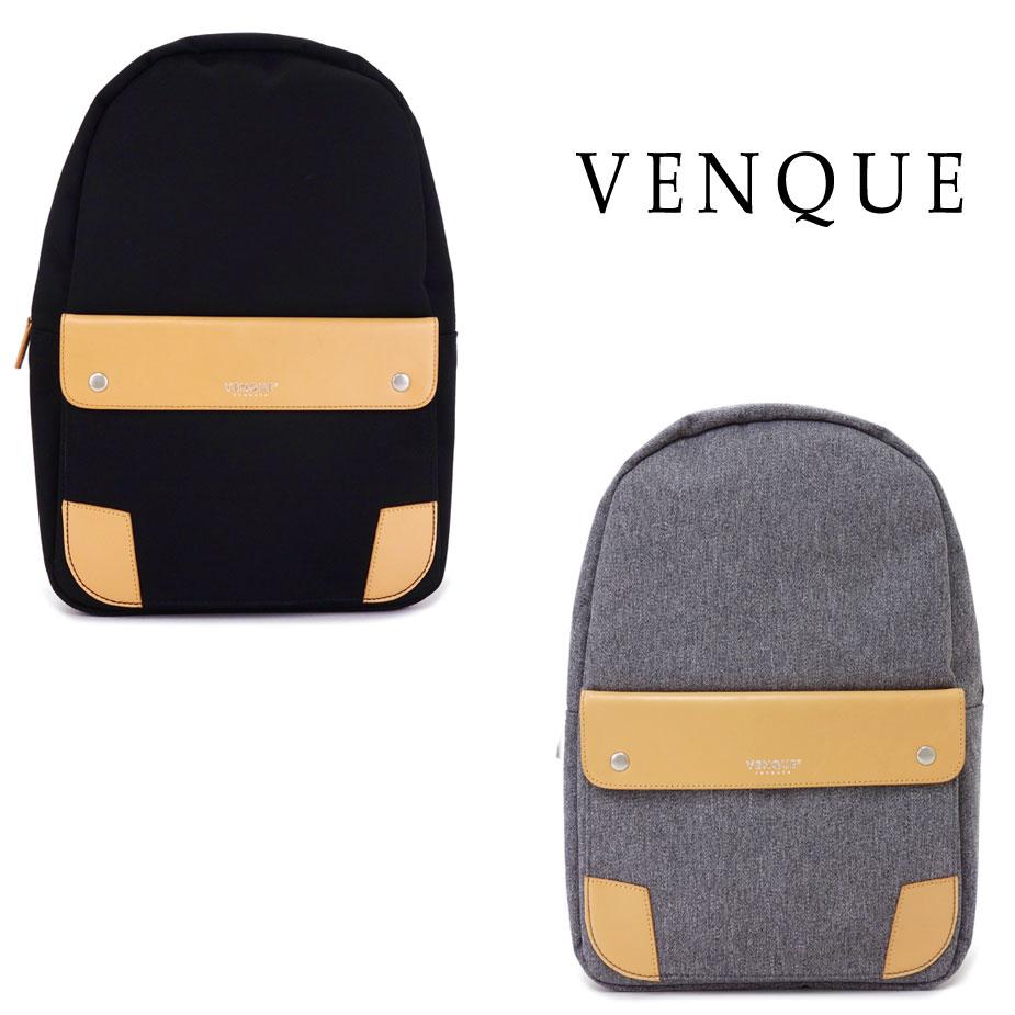 【送料無料】リュックサック デイパック メンズ VENQUE ヴェンク ベンク classic クラシック B4 A4 国内正規品 本革 レザー 高強度 撥水 耐熱 クァンタファブリック QUANTA FABRIC SALE セール