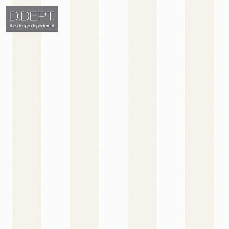 【送料無料】輸入壁紙 ストライプ オランダ製 クロス のりなし 不織布 フリース 壁紙 ヨーロッパ D.DEPT./ザ・デザイン・デパートメント(53cm×10m/ロール)338-346809 全1色【すぐ届く!国内在庫品】