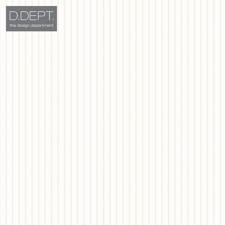 【送料無料】輸入壁紙 ストライプ オランダ製 クロス のりなし 不織布 フリース 壁紙 ヨーロッパ D.DEPT./ザ・デザイン・デパートメント(53cm×10m/ロール)338-346822 全1色【すぐ届く!国内在庫品】