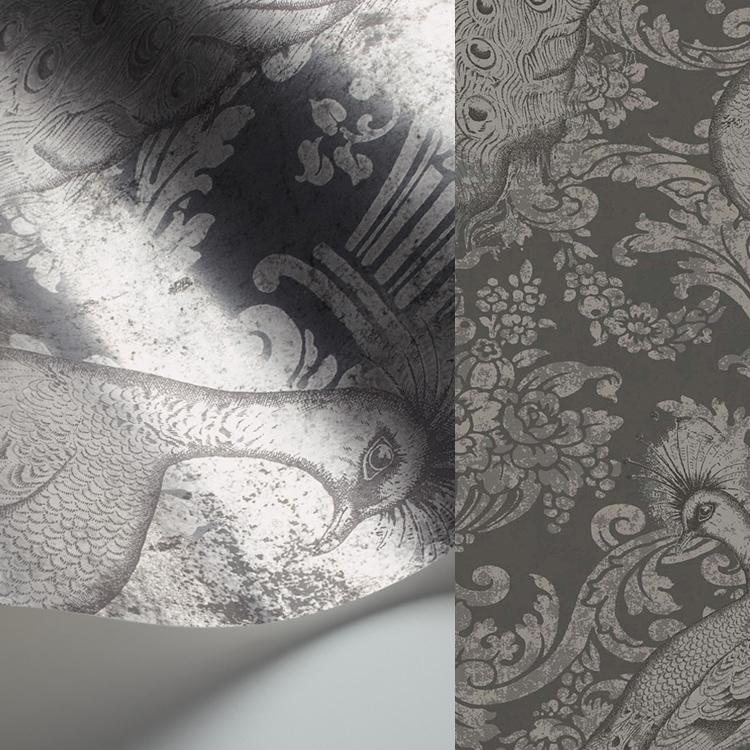 【国内 送料無料】 イギリス製(ヨーロッパ) のりなし 輸入壁紙 Cole & Son(コールアンドサン) 【カタログ ALBEMARLE】 フリース(不織布)壁紙 クロス 94/7039 [購入単位 1ロール(52cm×10m)] 【お取り寄せ品】