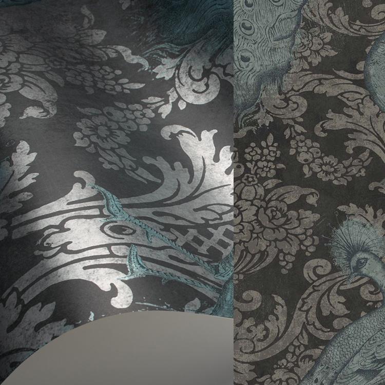 【国内 送料無料】 イギリス製(ヨーロッパ) のりなし 輸入壁紙 Cole & Son(コールアンドサン) 【カタログ ALBEMARLE】 フリース(不織布)壁紙 クロス 94/7041 [購入単位 1ロール(52cm×10m)] 【お取り寄せ品】
