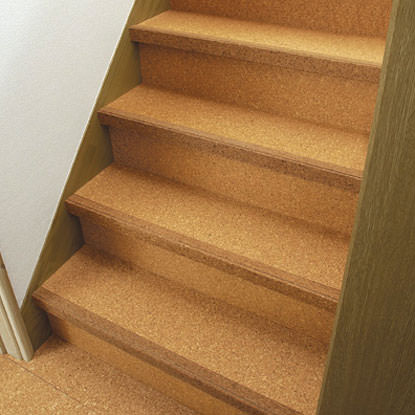 Cork Renewal Stairs Stairway Skirting Full Color Leg Friendly Stair Baseboard To Paste Over The Accident Prevention Rick