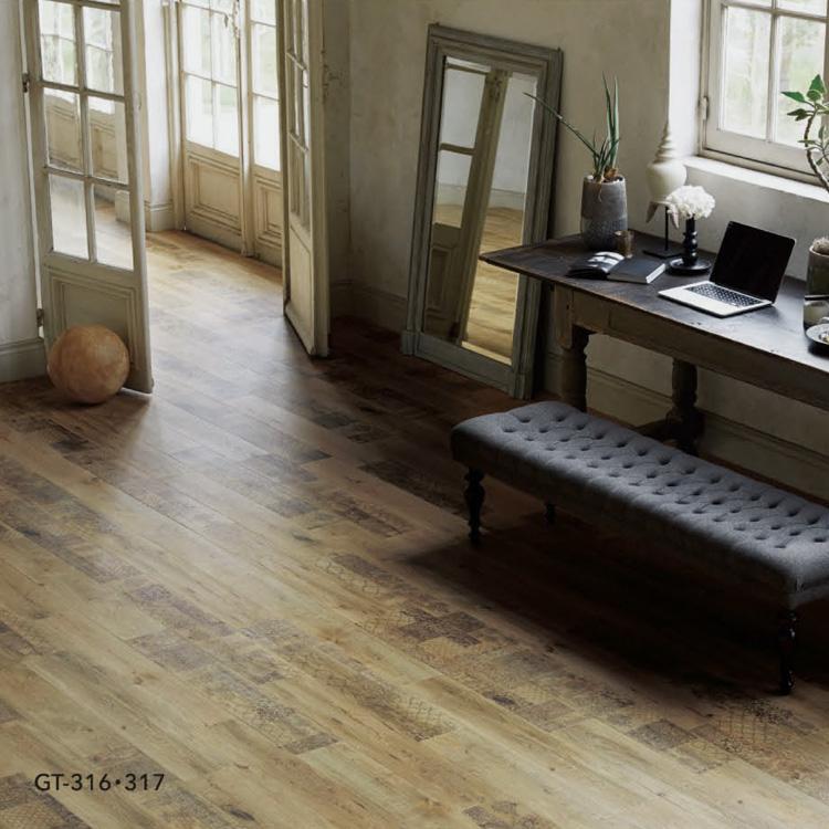 Kabegamiyahonpo Timeless Oak Tile Floor Tile Lt For Indoor Amp