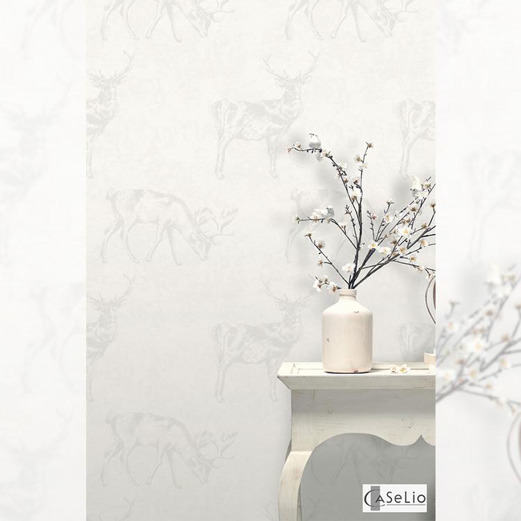 はってはがせる輸入壁紙 フランス製 テックスデコ・カセリオ Imported Wallpaper1ロール(53cm×10m)単位で販売フリース壁紙(不織布)