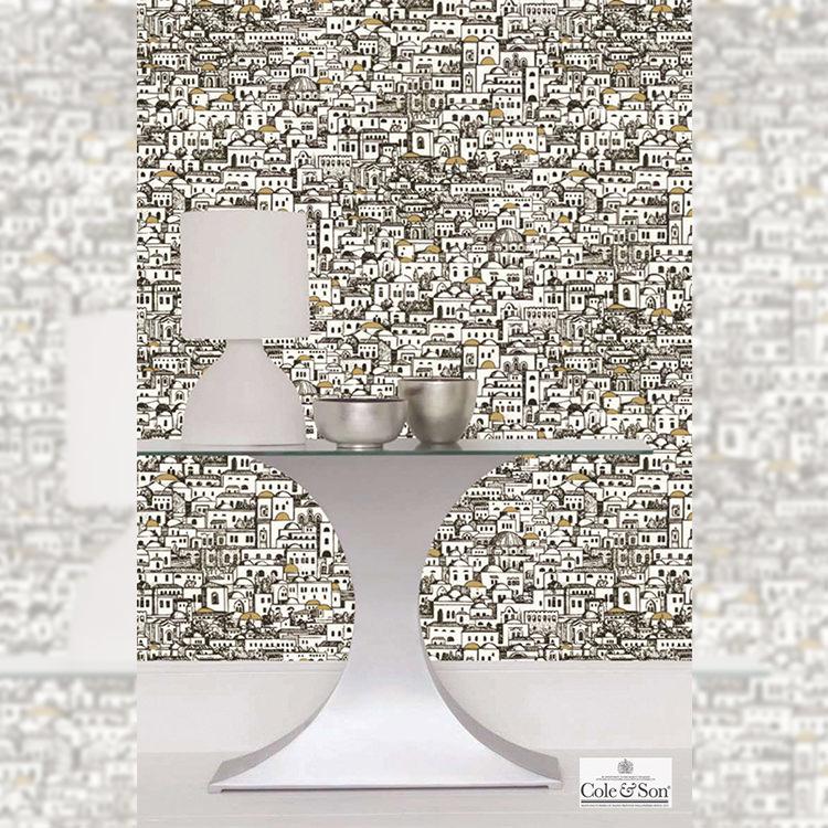 輸入壁紙 イギリス製 コール・アンド・サン Imported Wallpaper1ロール(52cm×10m)単位で販売フリース壁紙(不織布) 【海外取り寄せ商品】