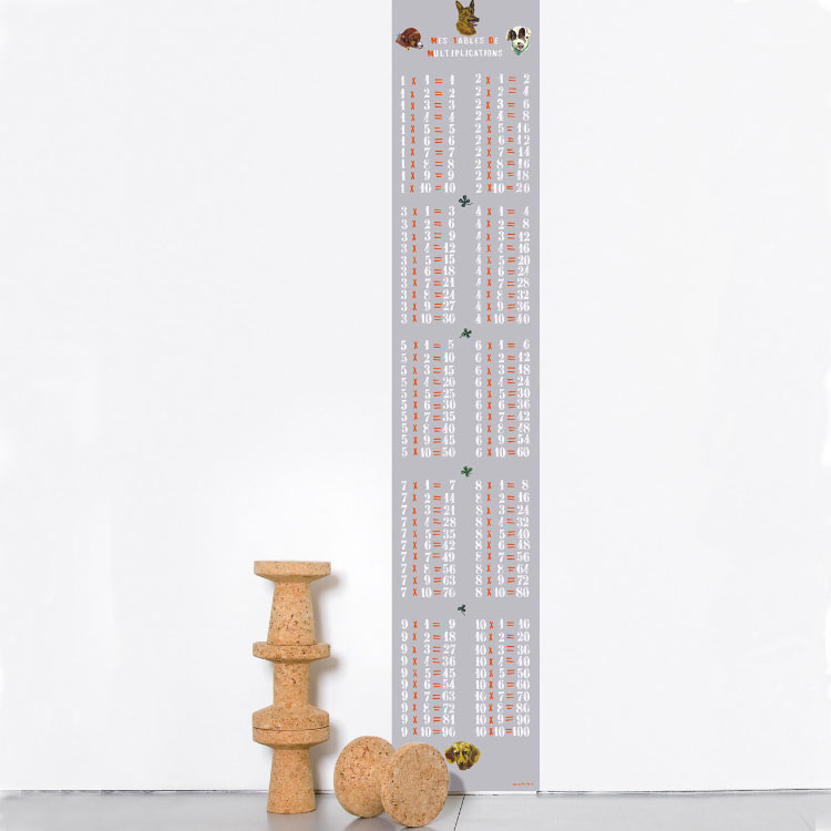 Domestic / ドメスティック Multiplications Garcons ナタリーレテ  はってはがせる輸入壁紙 フランス製 ナタリー・レテ Multiplications Garcons 1ロール(46.5cm×2.5m)単位で販売 フリース壁紙(不織布) 壁紙屋本舗