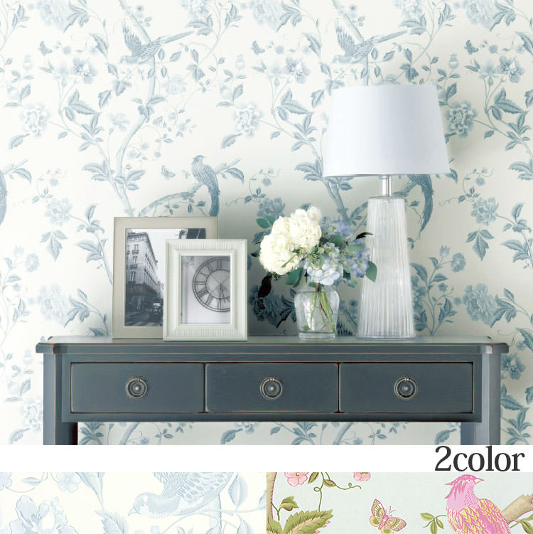 LAURA ASHLEY WALLPAPER COLLECTION by LAURA ASHLEY (UK) Summer Palace