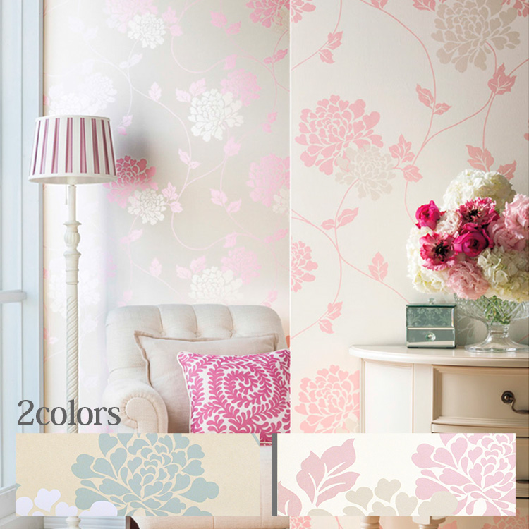 Paper wallpaper imported wallpaper England LAURA ASHLEY and Laura Ashley (sold in units of 1 ...