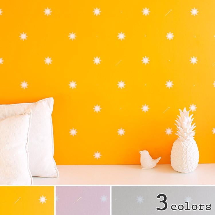 輸入壁紙 フランス製 バーチ Starry Night1ロール(52cm×1000cm)単位で販売フリース壁紙(不織布)