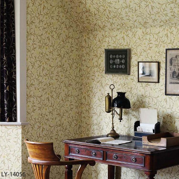 輸入壁紙 英国製 MORRIS&Co. / モリス (1ロール(52cm×10m)単位で販売) 紙系 【国内在庫】 LY-14056、LY-14057 壁紙屋本舗