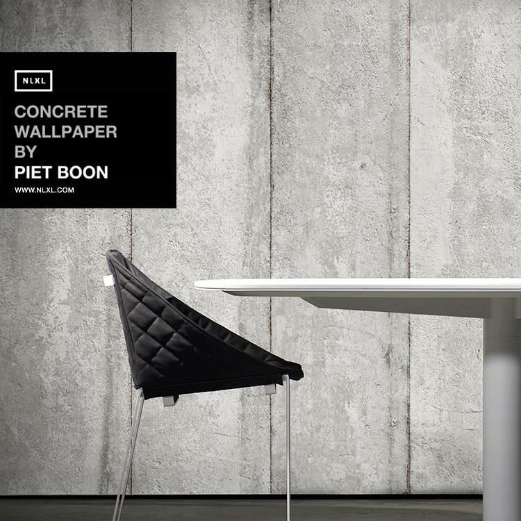 輸入壁紙 オランダ製CONCRETE WALLPAPER /  コンクリート・ウォールペーパー(1ロール(48.7cm×9m)単位で販売)フリース(不織布)【国内在庫】【あす楽対応】