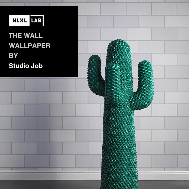 輸入壁紙 オランダ製NLXL LAB The Wall Wallpaper / Studio Job エヌエルエックスエル・ラボ(1ロール(48.7cm×9m)単位で販売)フリース(不織布)【国内在庫】
