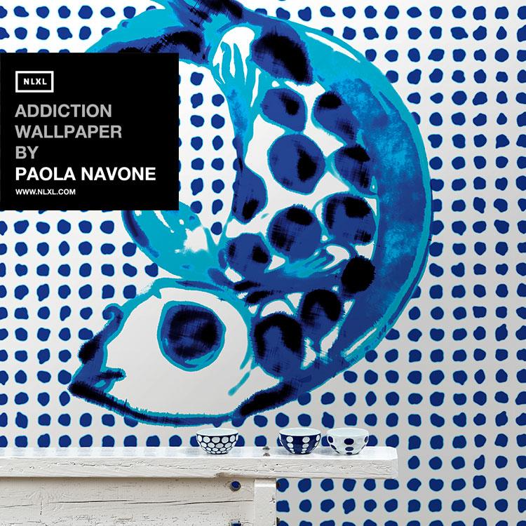 輸入壁紙 オランダ製 NLXL / ADDICTION WALLPAPER BY PAOLA NAVONE / PNO-01 【3パネルセット】(1セット(146.1cm×330cm)単位で販売)フリース(不織布)【海外取り寄せ商品】