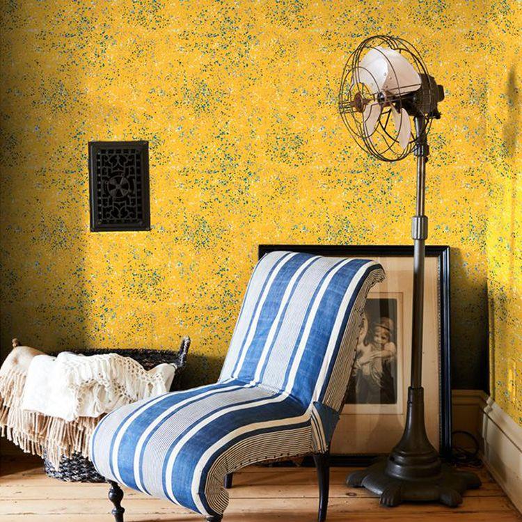 キレイに貼って キレイに剥がせる 即納 シール 壁紙 貼りやすいから初心者にもおすすめ 壁 家具 階段 ドア等のリメイクにもぴったり ウォールショップ リメイクシート Paint-Yellow貼ってはがせる シールwallshoppe 信託 はがせる Parsons