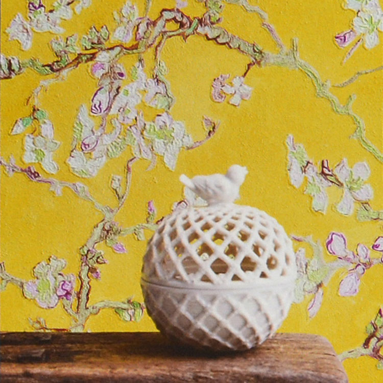 【10%OFFクーポン配布中!5/31まで】輸入壁紙 BN(ビーエヌ) Van Gogh / 17143(THE BLOOMING HOUSE7)(1ロール(53cm×10m)単位で販売)フリース(不織布)【国内在庫】