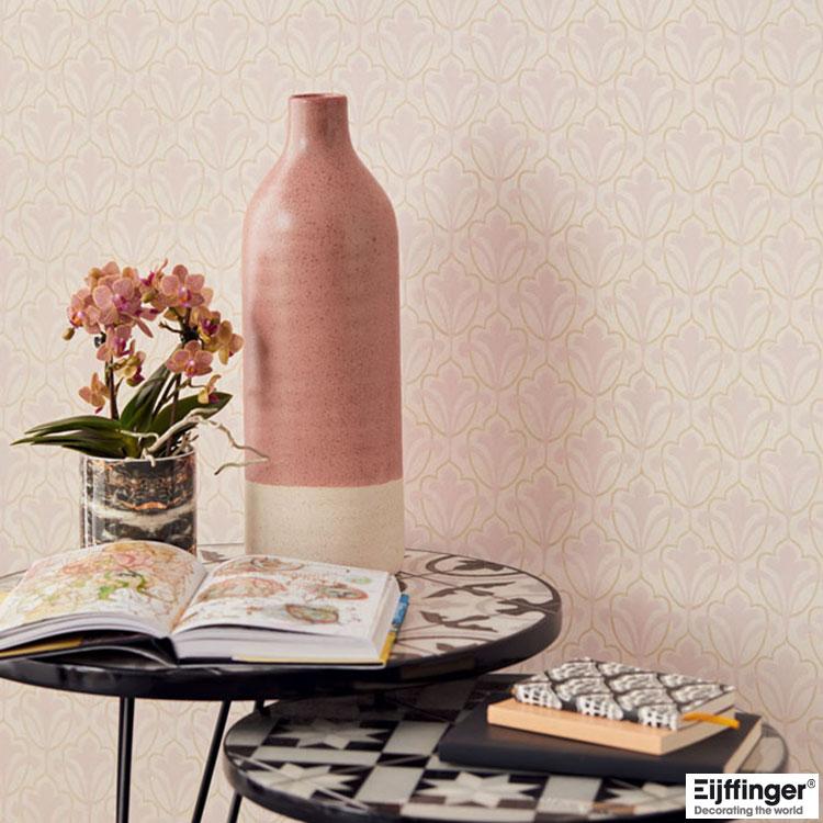 輸入壁紙 Eijffinger(アイフィンガー) CARMEN / 392521(THE BLOOMING HOUSE7)(1ロール(52cm×10m)単位で販売)フリース(不織布)【国内在庫】