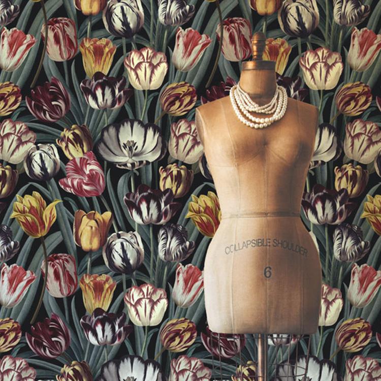 輸入壁紙マインド・ザ・ギャップ WP20177フリース(不織布)(巾156cm×高さ3m 3パネル 1セット単位で販売)