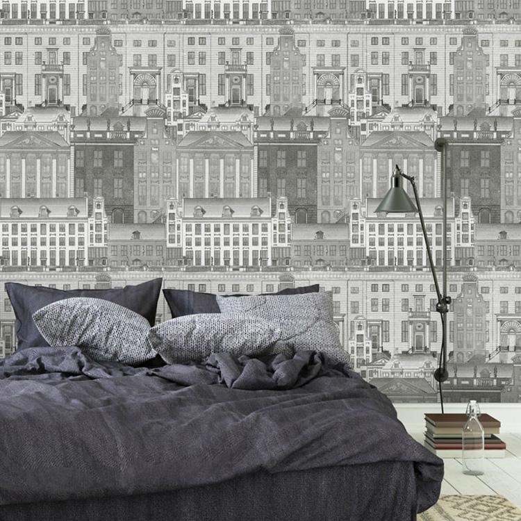 輸入壁紙 マインド・ザ・ギャップ WP20209 フリース(不織布)(巾156cm×高さ3m 3パネル 1セット単位で販売) 壁紙屋本舗