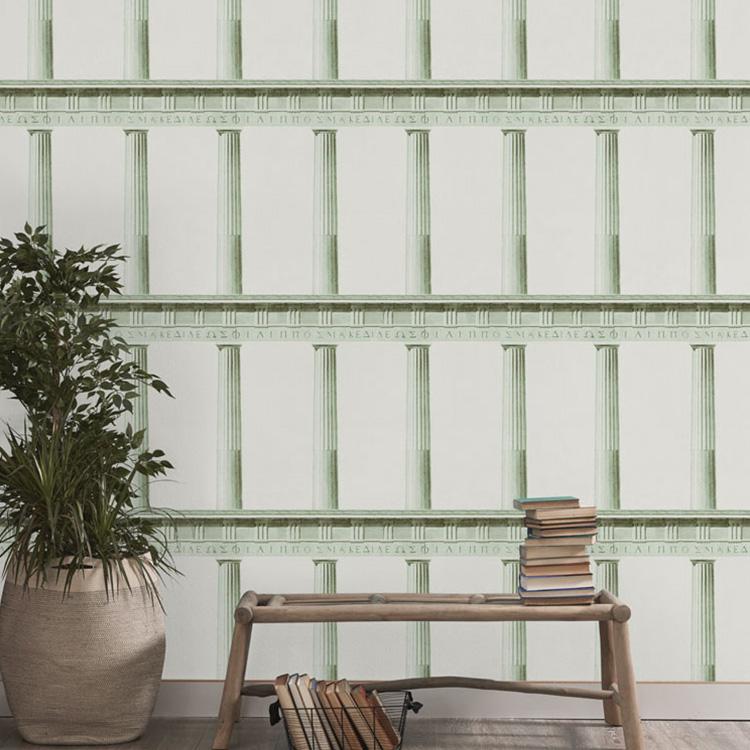 輸入壁紙 マインド・ザ・ギャップ WP20214 フリース(不織布)(巾156cm×高さ3m 3パネル 1セット単位で販売) 壁紙屋本舗