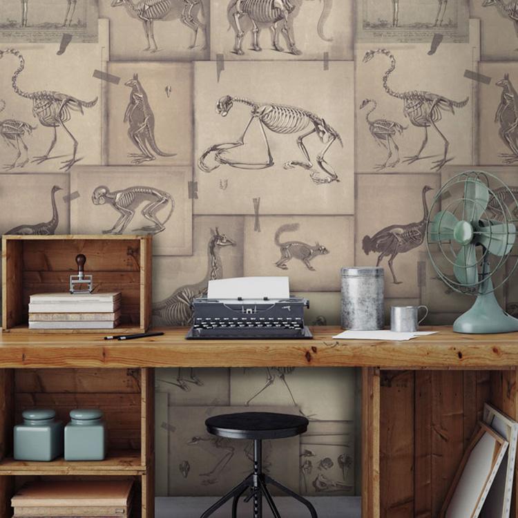 輸入壁紙 マインド・ザ・ギャップ WP20236 フリース(不織布)(巾156cm×高さ3m 3パネル 1セット単位で販売) 壁紙屋本舗