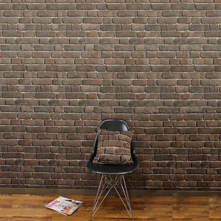 KOZIEL France Imported Wallpaper はってはがせる 輸入 壁紙フランス製 1ロール 公式ストア レンガ調 不織布 53cm×10m 単位で販売フリース壁紙 ブリック 激安特価品 コジエル