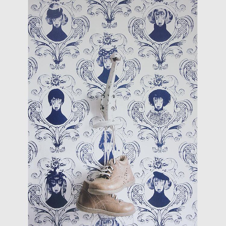 輸入壁紙 スウェーデン製 スタジオ リサ・ベングトソン / Lisa Bengtsson (1ロール(53cm×10m)単位で販売)紙系壁紙 【当店在庫品】 Tillsammans【あす楽対応】