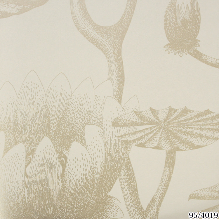 輸入壁紙 イギリス製 コール・アンド・サン Lily 1ロール(52cm×10m)単位で販売 フリース壁紙(不織布) 【海外取寄】 壁紙屋本舗