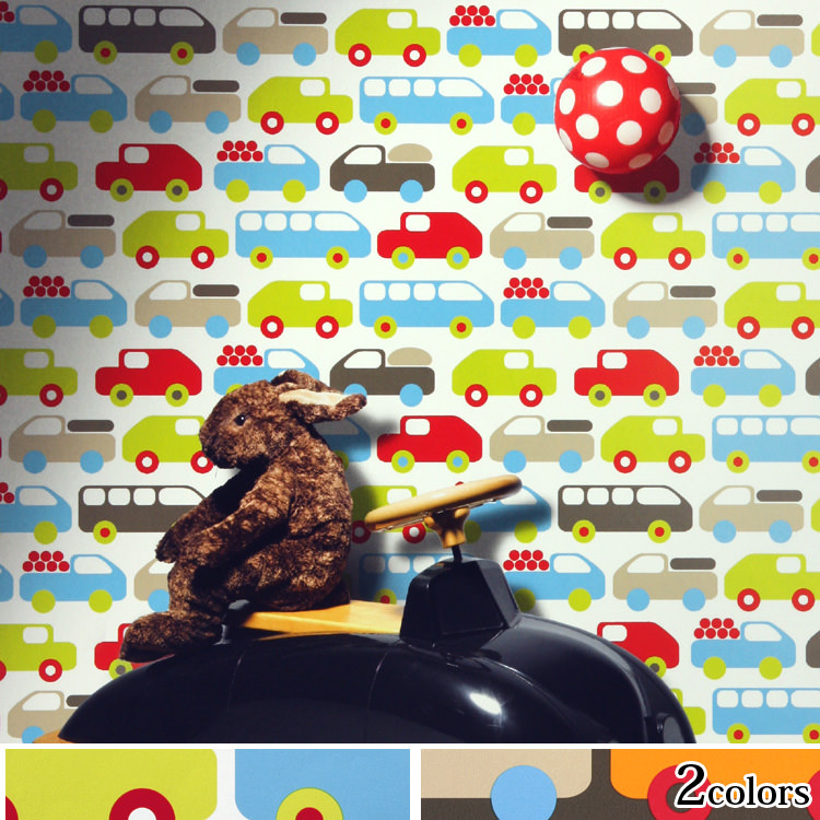 輸入壁紙 チェコ製 ラブミー Bruno1ロール(53cm×10m)単位で販売フリース壁紙(不織布) 【海外取寄】
