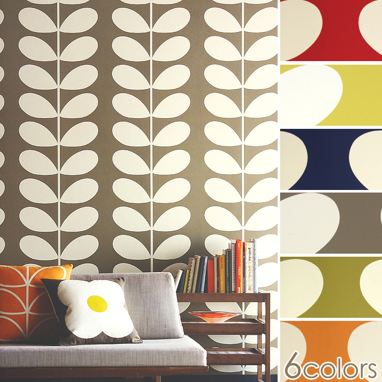 Orla Kiely Wallpapers Harlequin I Sell It By 1 Roll 52cm 10m Unit Fleece Wall Paper Nonwoven Fabric Made In The Import Wall Paper U K
