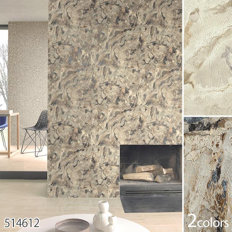 导入德国制造的壁纸 / 高峰 (出售 1 卷 (53 厘米 x 10 米) 为单位) 羊毛壁纸 (无纺布)