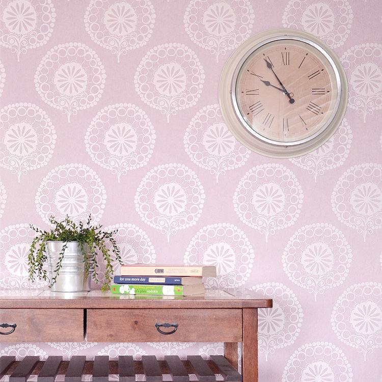 はってはがせる 輸入 壁紙フランス製 テックスデコ・カサマンス LONDON1ロール(53cm×10m)単位で販売フリース壁紙(不織布)