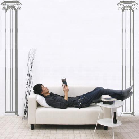 【即日発送可能】本舗オリジナルステッカー石柱「Limestone pillar」FP-0167F22 全16色【すぐ発送可能!】 【POSH】※メーカー直送商品