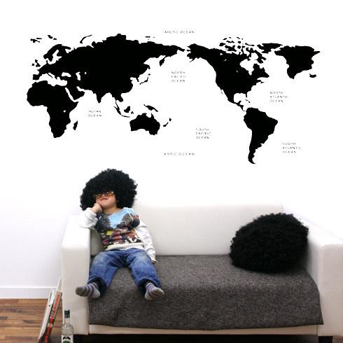 【最大5000円引きクーポン!1/5まで】 【即日発送可能】 本舗オリジナルステッカー black-world-map 「black-world-map」FP-0168F4 全16色 【すぐ発送可能!】 【POSH】 ※メーカー直送商品 【メーカー直送のため代引き不可】