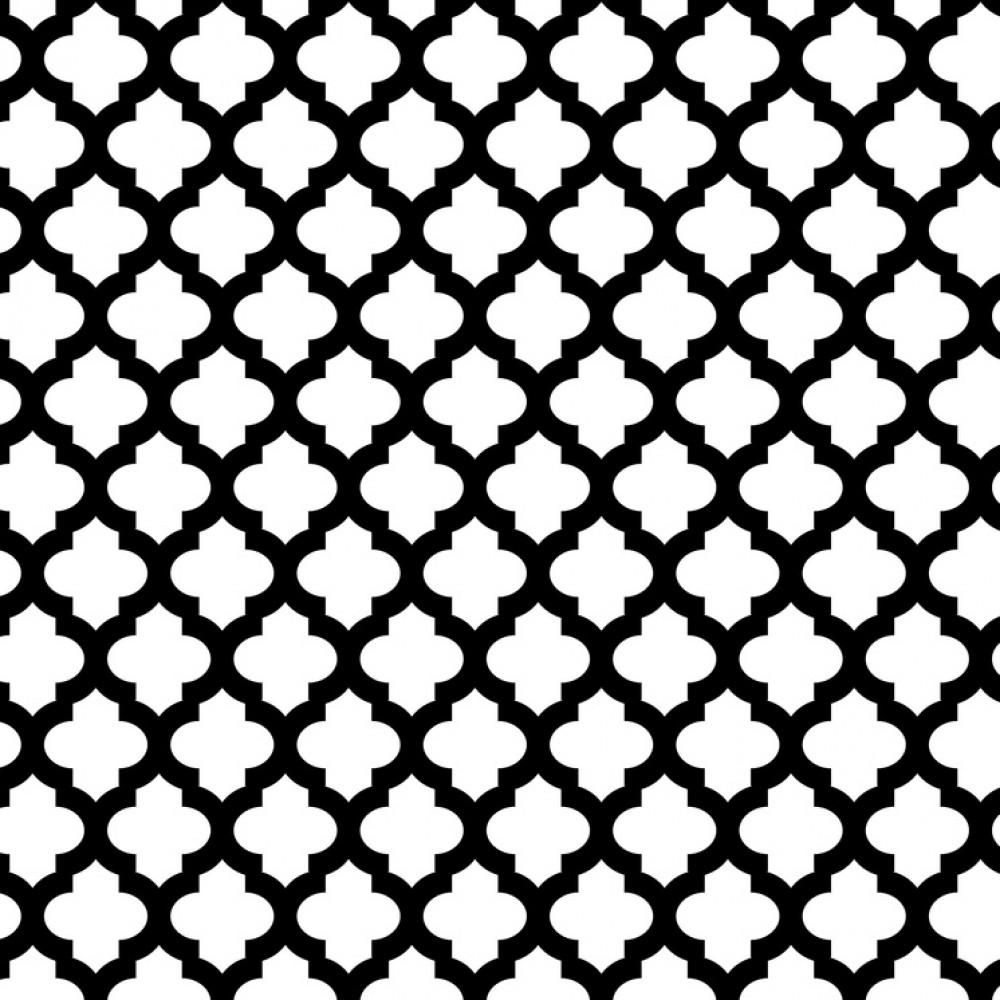 楽天市場 モノトーン 幾何学 モロッカン コラベルの壁紙輸入 カスタム
