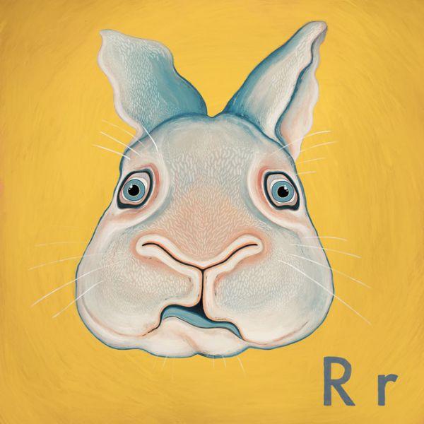 楽天市場 ウサギ イラスト アルファベット 黄色 イエローの壁紙 輸入 カスタム壁紙 Photowall Rabbit With R 貼ってはがせるフリース壁紙 不織布 海外取り寄せのため1カ月程度でお届け 代引き不可 壁紙屋本舗 カベガミヤホンポ