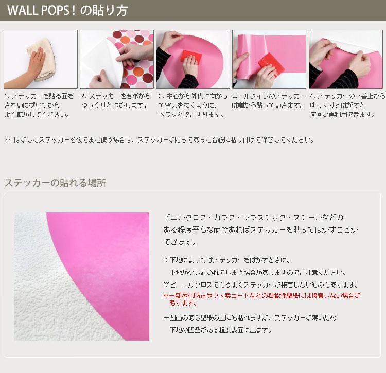 壁に貼ってはがせるステッカーウォールステッカー「WALL POPS!」(ウォールポップス)Black 4 Piece Organizer Set WPE1875【あす楽対応】