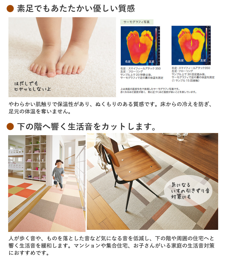 Washable Carpet Tile Adsorption Pets Floor Heating For Size 40 X Cm 10 Sold In Pairs Over 1 Amount Is The Pieces Per 500 Yen Some