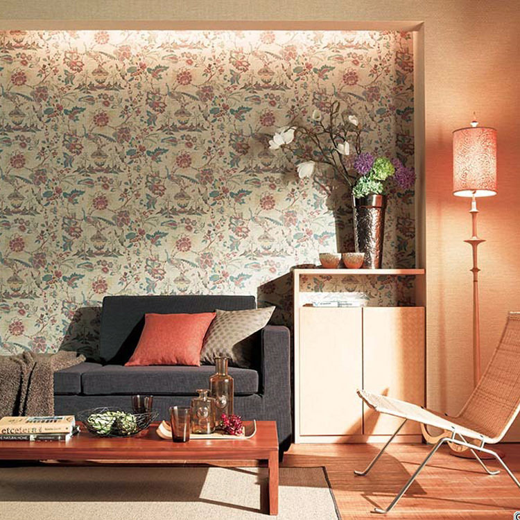 Floral wallpaper cross sum [Japanese wallpaper (norinashitaipu) / sangetsu FE-4226 (1 m units sold)] * corporation name receipt issued