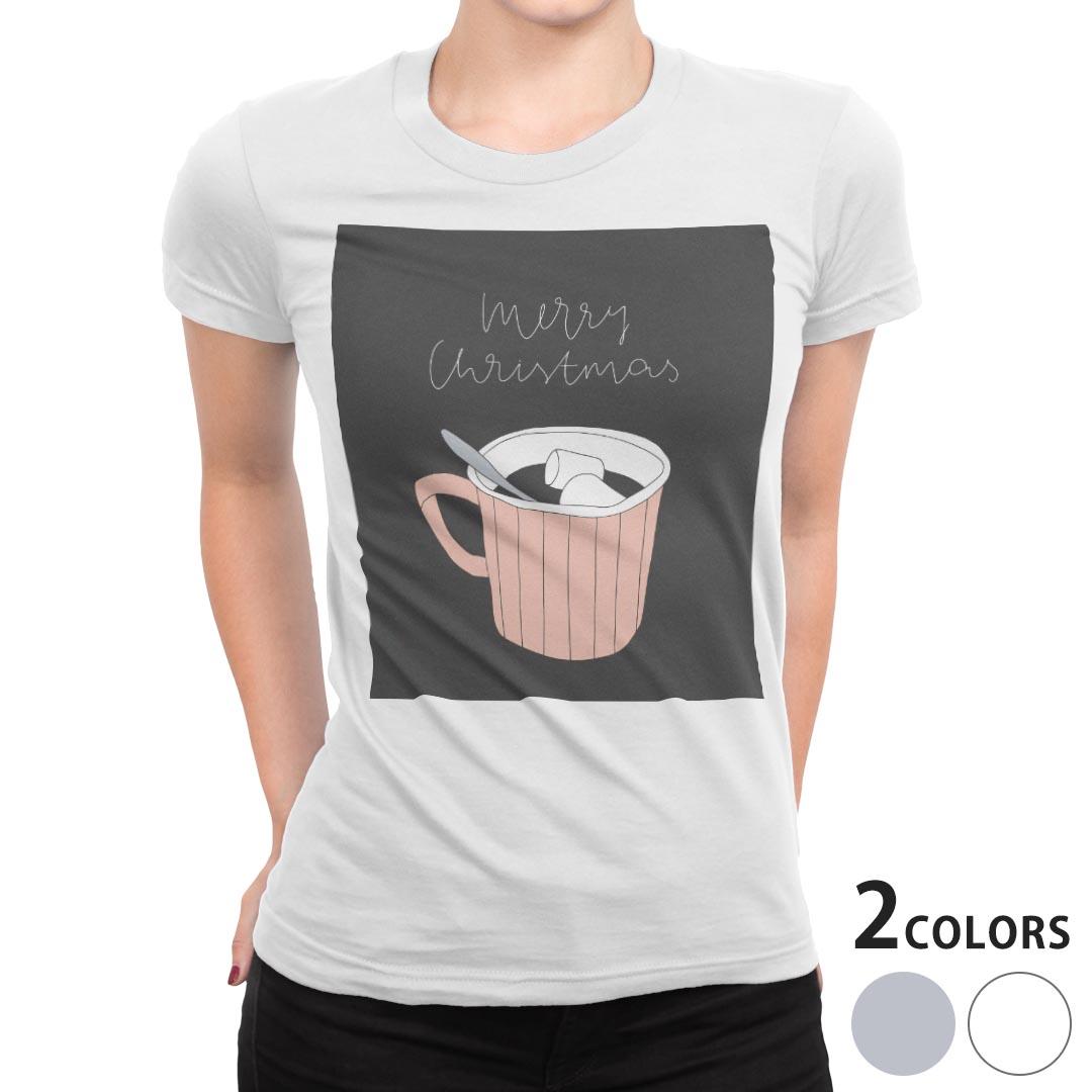 レディース デザインTシャツ tシャツ 半袖 白地 デザイン S M L ティーシャツ 着後レビューで 送料無料 日本未発売 015734 食べ物 飲み物 カフェ shirt T Tシャツ XL