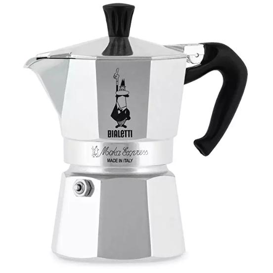 BIALETTI モカエクスプレス シルバー 3カップ BEX-3