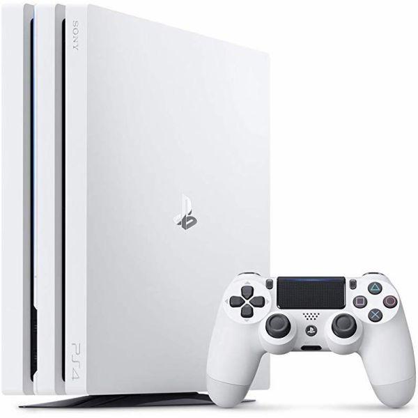 CUH-7200BB02  PlayStation 4 Pro グレイシャー・ホワイト 1TB CUH7200BB02