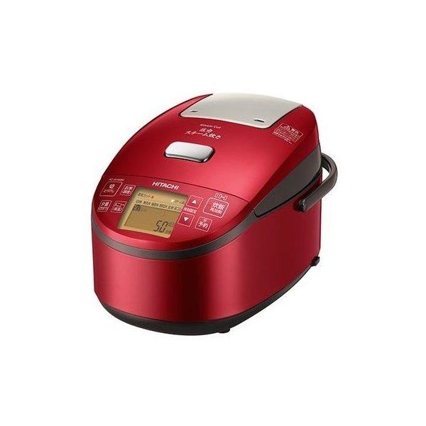 RZ-AV100M-R 日立 圧力IH炊飯器 メタリックレッド 5.5合炊き 圧力スチーム炊き RZ-AV100M