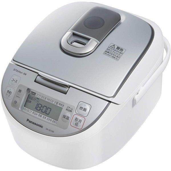 新品 アウトレット 訳あり特価(箱痛み) SR-SZ100-W パナソニック 5.5合 炊飯器 IH式 ダイヤモンド竈釜 ホワイト